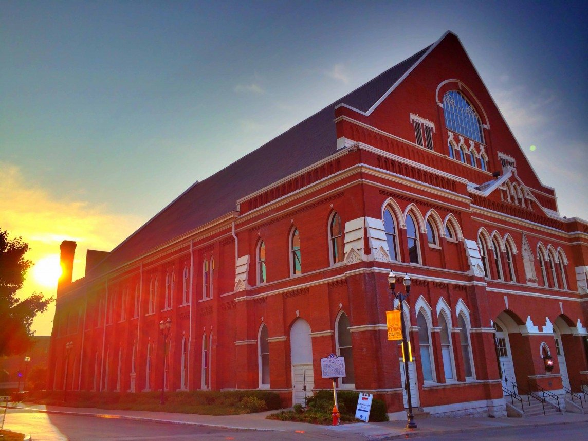 Sunrise at the Ryman Auditorium