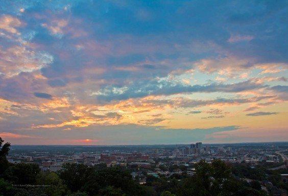 Soft Skies Over Birmingham