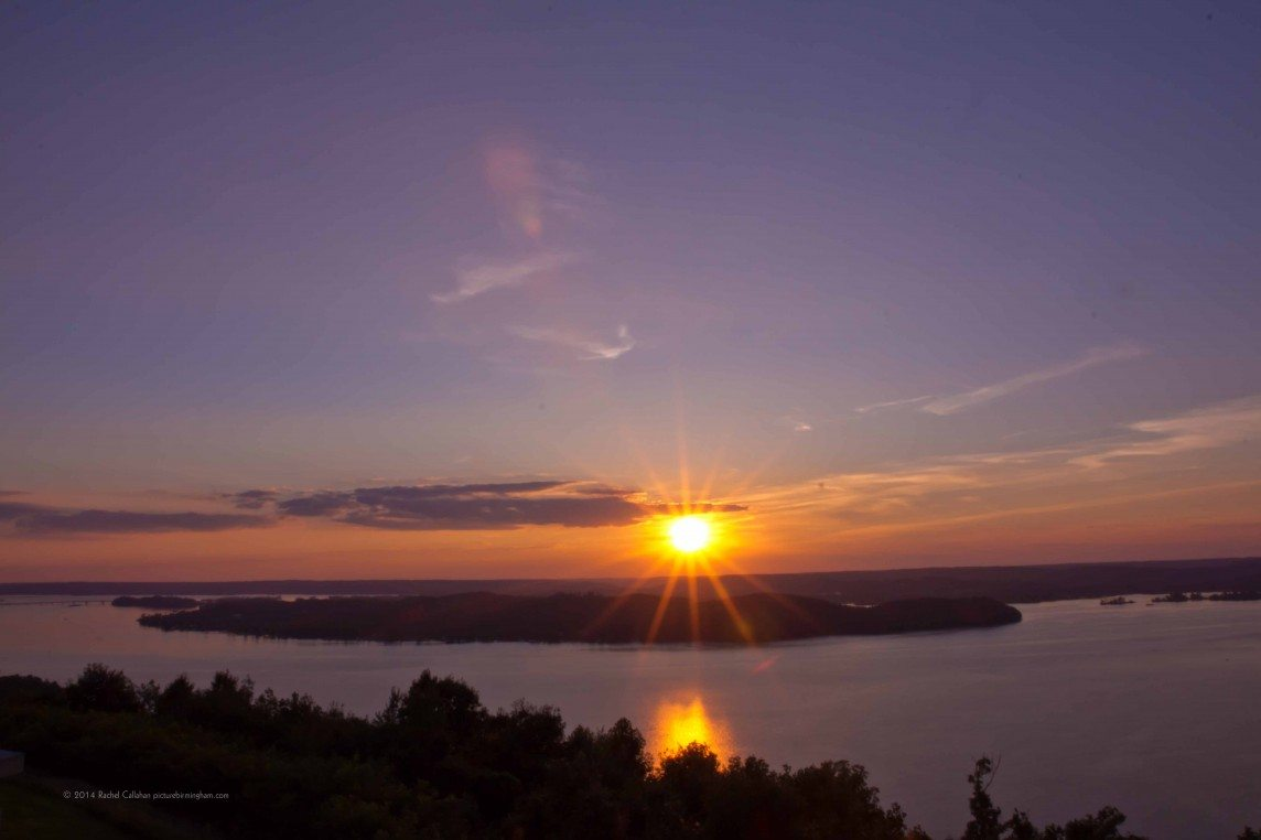 Beams Over Lake Guntersville