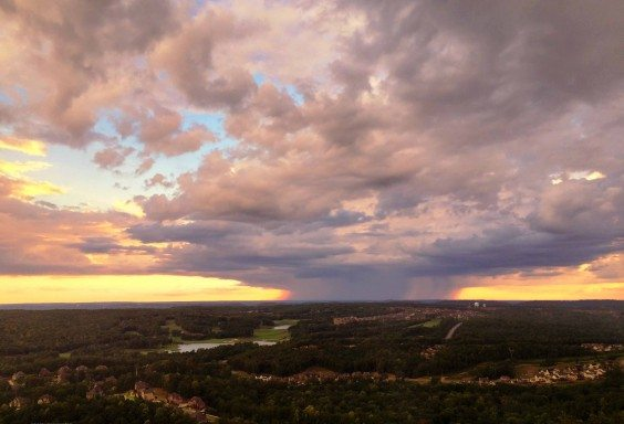 Storms from the Bluff