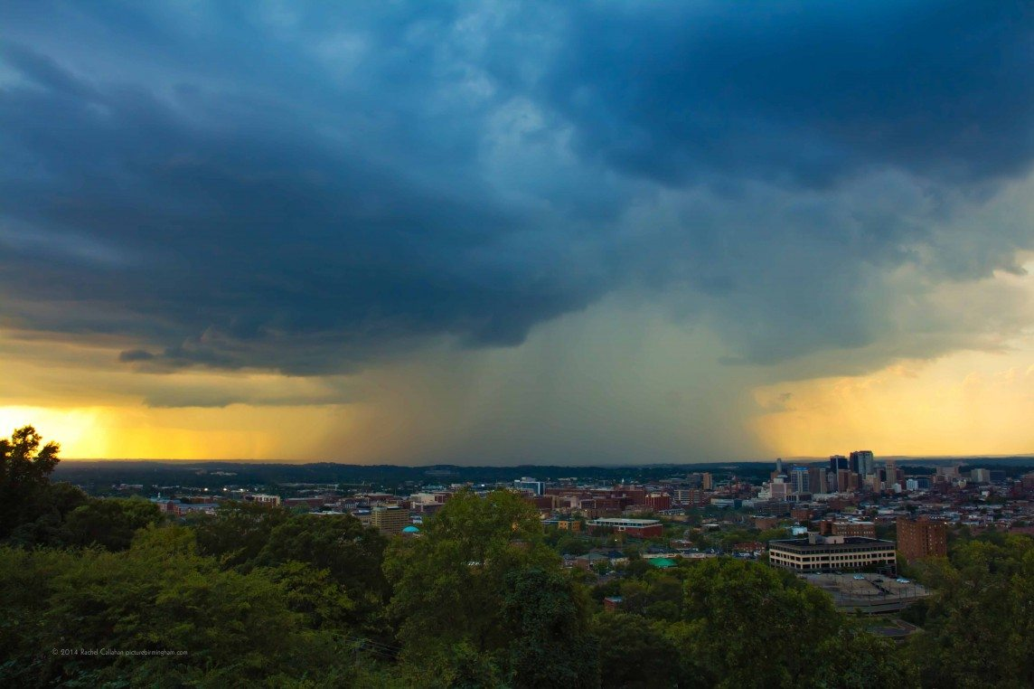 A Mighty Storm Over Birmingham