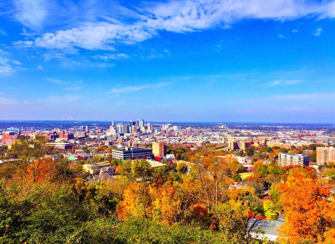 Autumn Comes to Birmingham