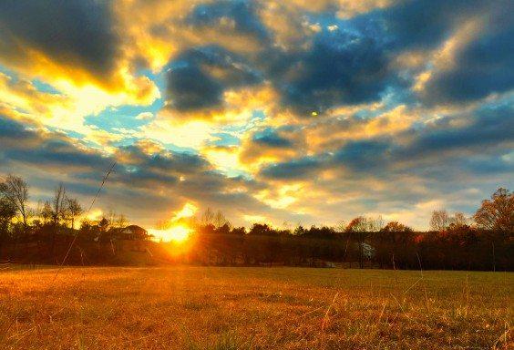 A Thanksgiving Sunset