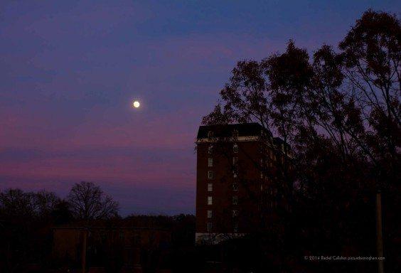 A Slightly Creepy Moon