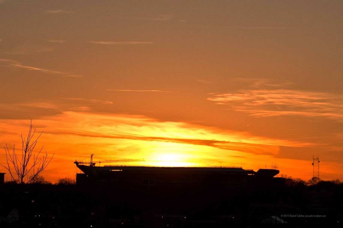 Bryant-Denny Catching the Sun