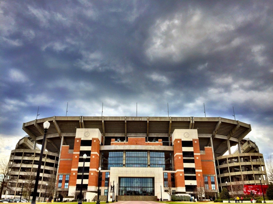 Storm Brewing over Bryant-Denny