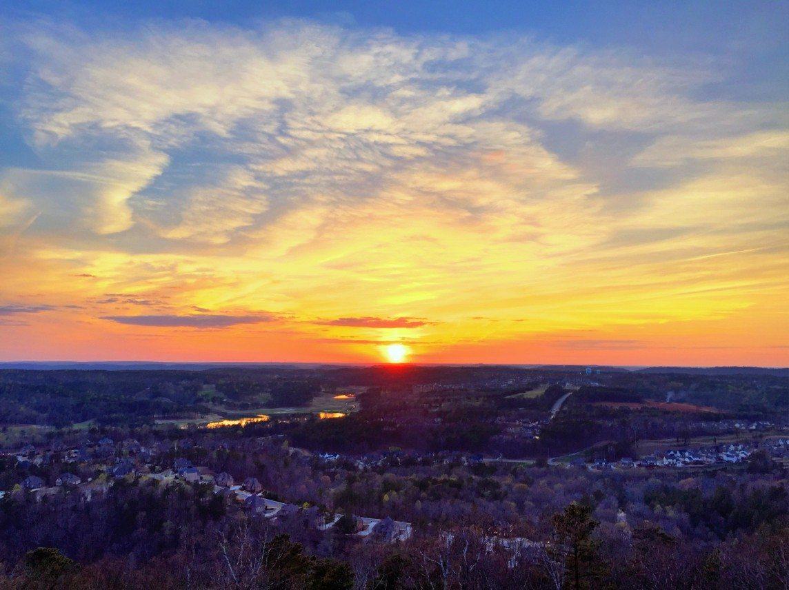 Sunset Over Ross Bridge