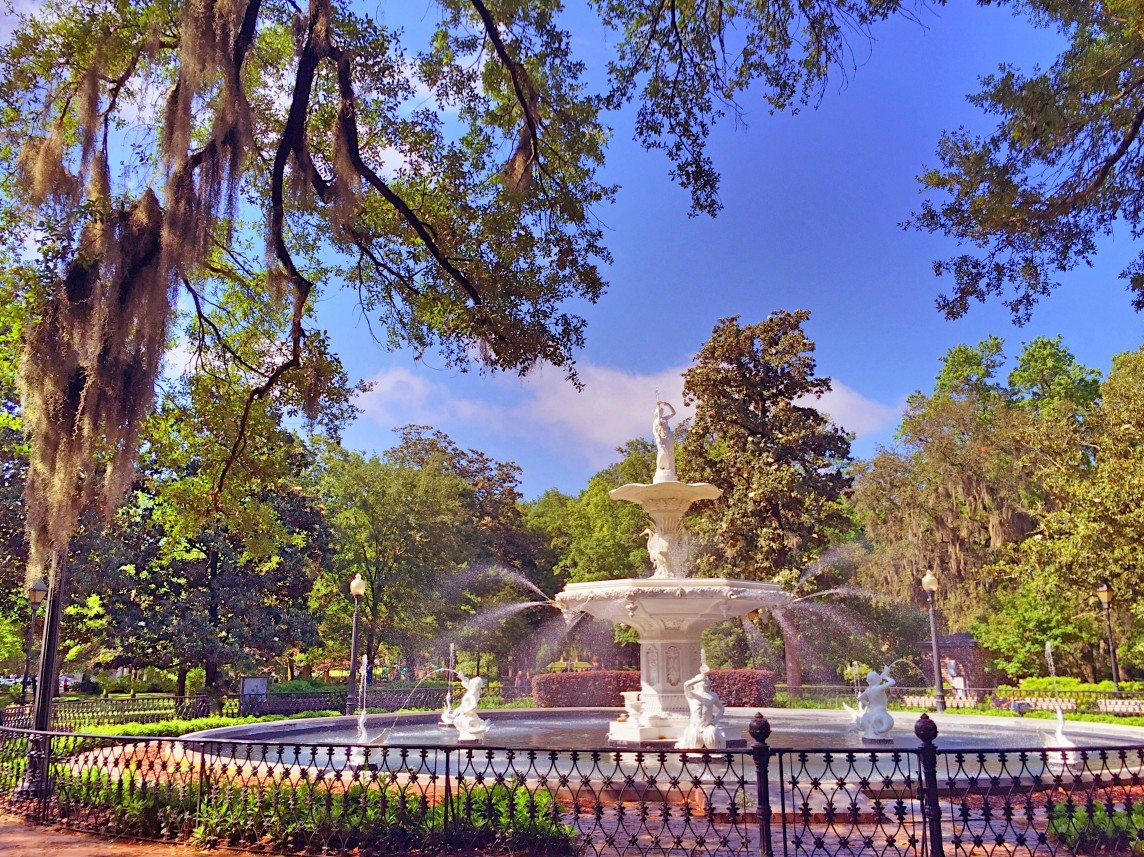 The Fountain at Forsyth Park