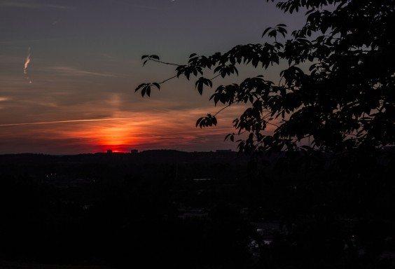 Last Hues of Sunset