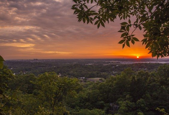 Ruffner Mountain's View of Birmingham