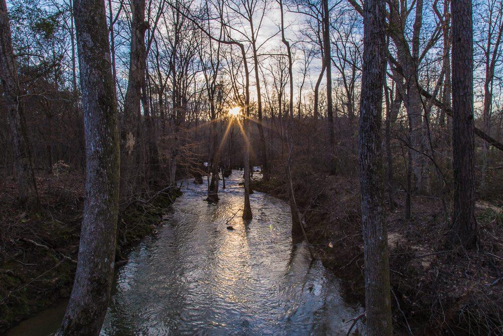 160306s-Sun-Beams-over-Kelly-Creek