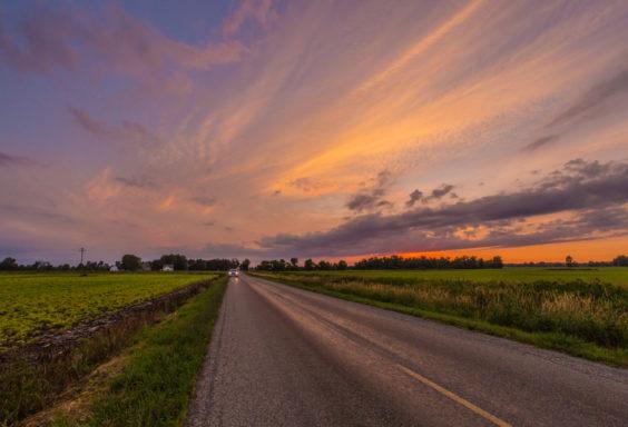 170703 Sunset in Michigan _MG_0167 s