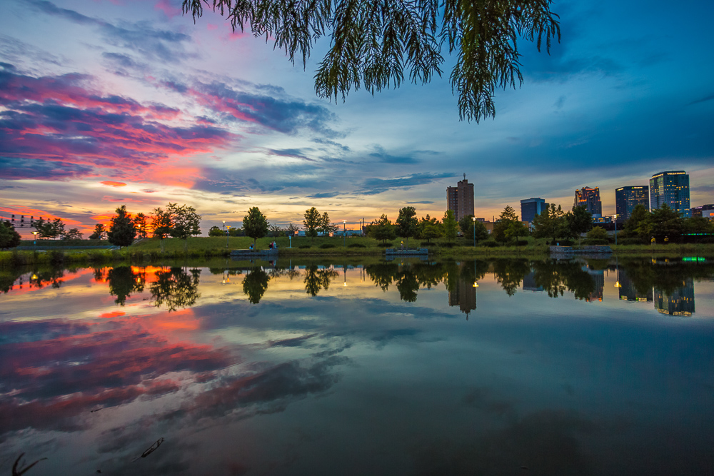 180809 pink and purple sunset at railroad park IMG_2267 s