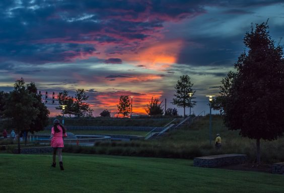 180809 pink and purple sunset at railroad park IMG_2297 s