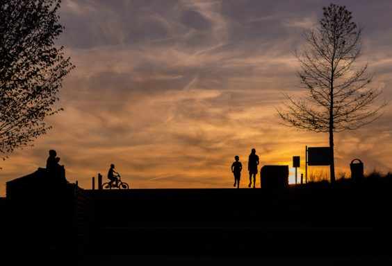 190405 Railroad Park sunset silhouettes IMG_3291 s
