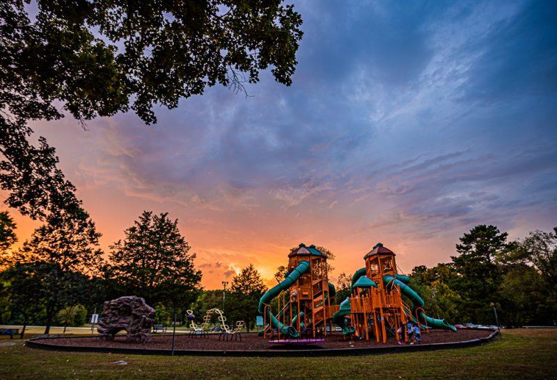 190821 leeds park sunset storm IMG_2667-Hs