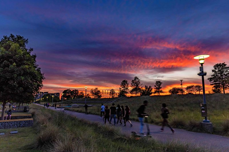 210522 railroad park at dusk people on trails RZC_2793 r