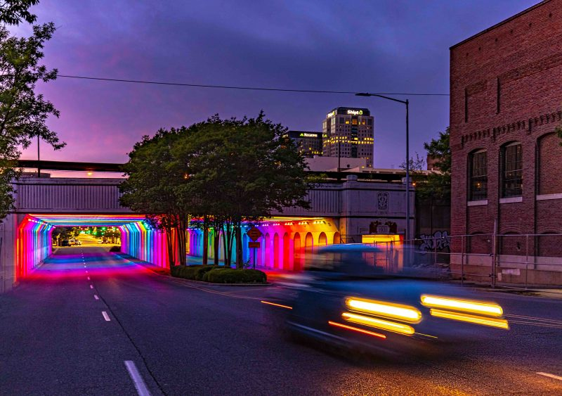 210522 rainbow tunnel and pink skies downtown RZC_2838 r